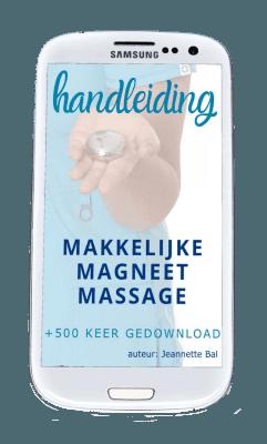 handleiding makkelijke magneetmassage